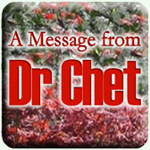 A Message from Dr Chet