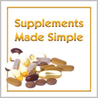 Supplements Made Simple